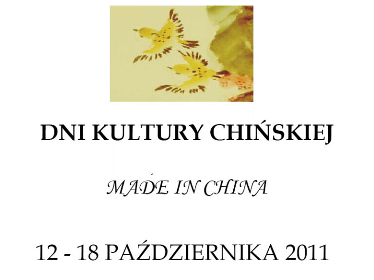 Read more about the article Dni Kultury Chińskiej