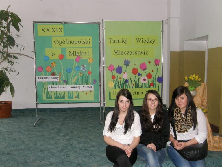 Read more about the article XXXIX Turniej Wiedzy <br> oMleku iMleczarstwie