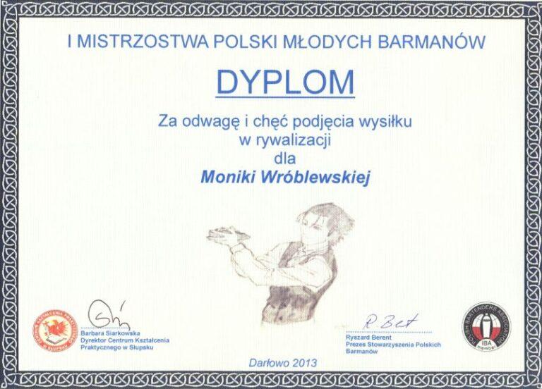 Read more about the article IMistrzostwa Polski <br> Młodych Barmanów wDarłowie