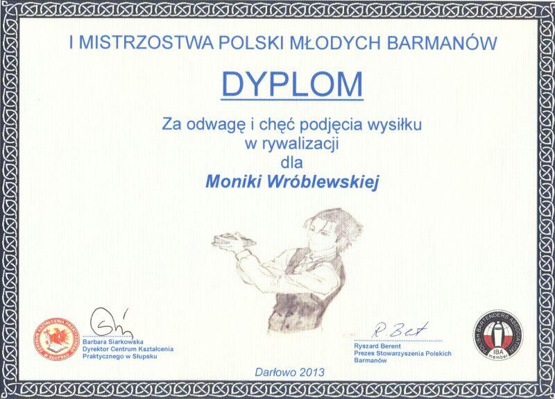You are currently viewing IMistrzostwa Polski <br> Młodych Barmanów wDarłowie