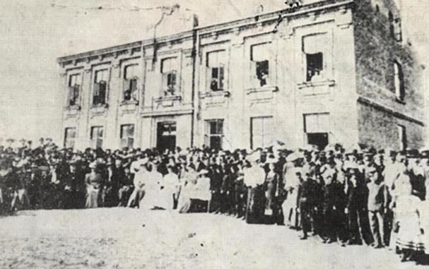 2 września 1907r. uroczystość otwarcia Szkoły Realnej wKutnie