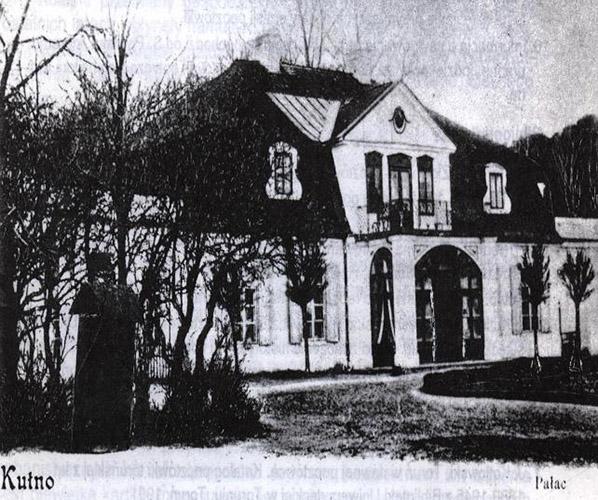 ul. Pałacowa rok 1914