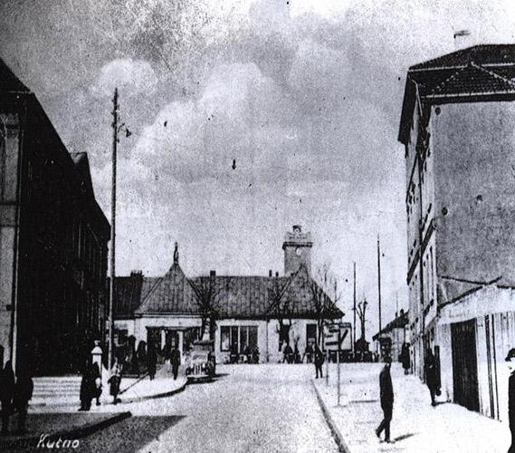 Widok naPałac Saski rok 1942