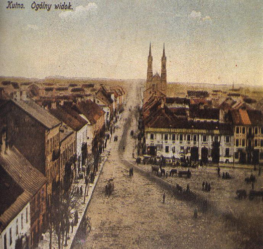 Widok zRatusza rok 1942