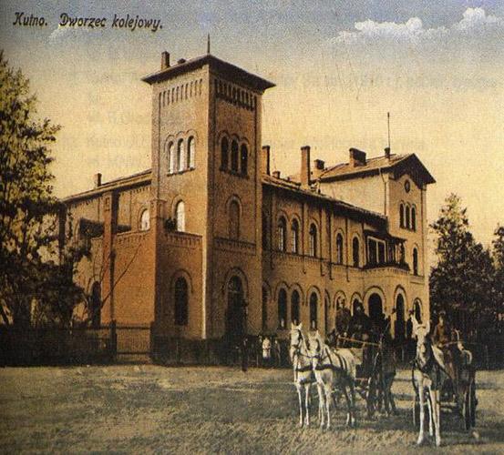 Budynek dworca kolejowego rok 1914